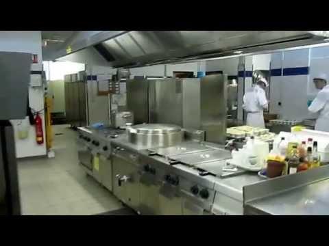 Cours de cuisine: La marche en avant