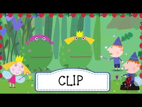 Ben y Holly - El príncipe rana (clip 1)