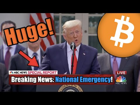 President Trump Just Declared A National Emergency – Everything You MUST KNOW If You Hold Bitcoin