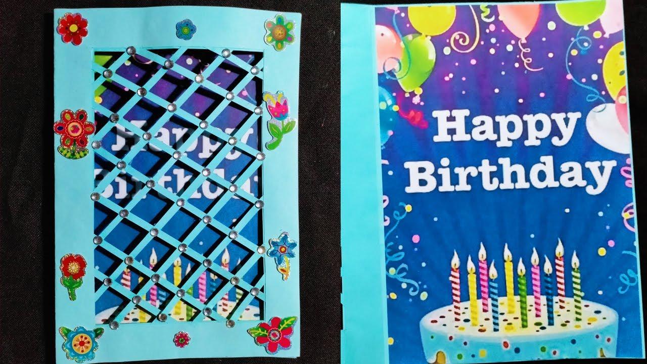 Gift Cards Design Art: handmade birthday card ideas for best friend | Gift card idea