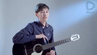 Dalatunes | видеоуроки: учимся играть на гитаре — урок #9