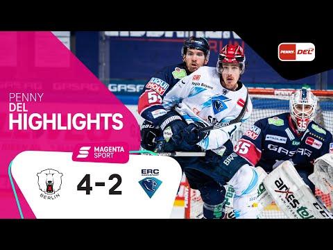 Eisbären Berlin - ERC Ingolstadt | Halbfinale, Spiel 3, 2020/2021 | MAGENTA SPORT