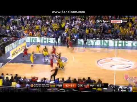 Khryapa score for OT - Fenerbahce vs CSKA Moscow - F4 Final 2016 - 15/05/2016