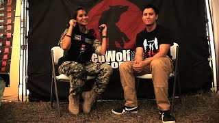 RedWolf Tim Interviews Adella Relentless - RedWolf Airsoft RWTV