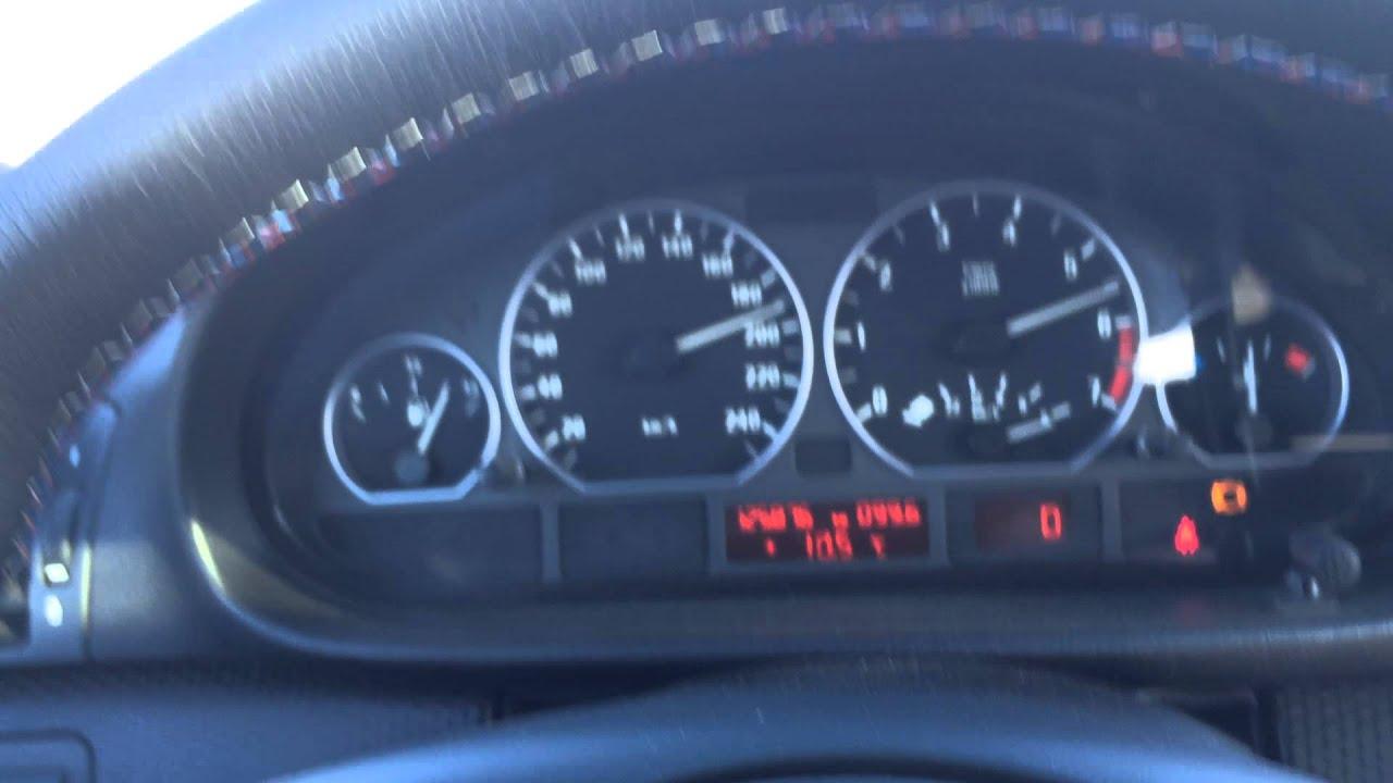 BMW E46 330i Japan version 220km/h factory speed limiter