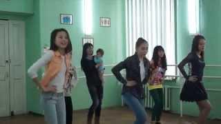 Видео урок для домашнего обучения детишек дефиле и флешмоб