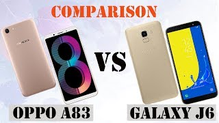 Difference Between OPPO A83 VS Galaxy J6  || Specifications Comparison || First Look || Who is Best
