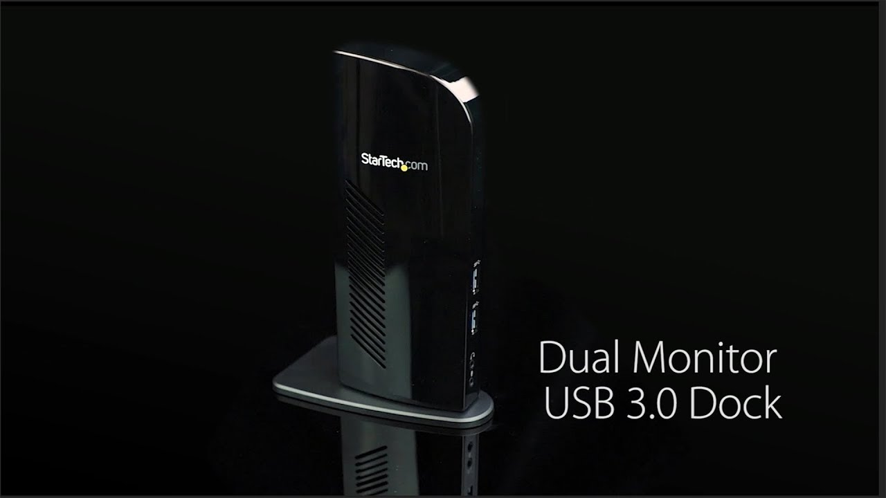 USB 3 0 Universal Docking Station - Dual Monitor Docking
