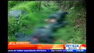Policías asesinados por criminales de las FARC fueron ultimados con tiro de gracia