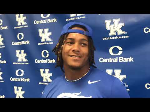 Wan'Dale Robinson after Kentucky's win over ULM