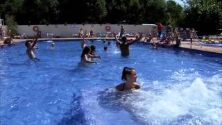 CAMPING CABALLO DE MAR. PINEDA DE MAR (Barcelona) SPAIN.VIDEO OFICIAL