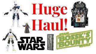 Huge Star Wars Toy Haul | Black Series | Gentle Giant Jumbo Figures