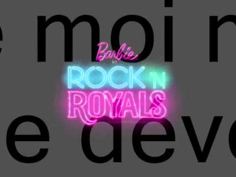 Barbie Rock 'n Royales-Si Je Brillais paroles