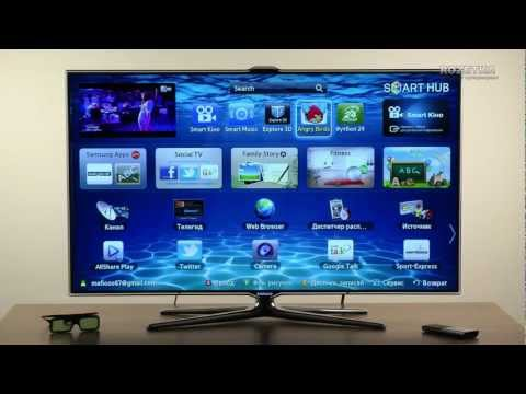 видео: Телевизоры samsung серии 7500
