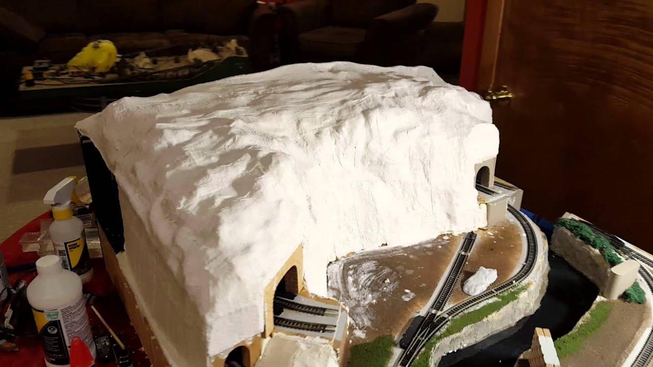 Mountain build using spray insulating foam 3 youtube