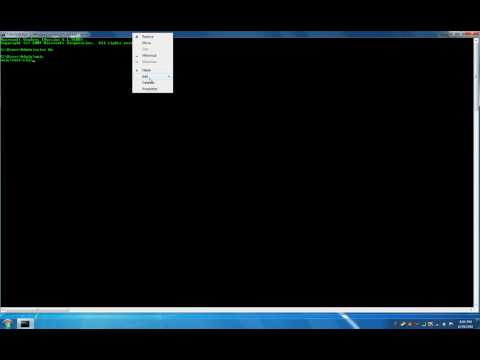 How to make command prompt maximized in windows 7