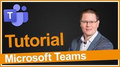 Microsoft Teams Tutorial (inkl. OneNote Tipp)