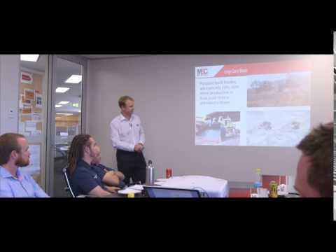MEC Mining Lunch and Learn Session - Bulk Dozer Push
