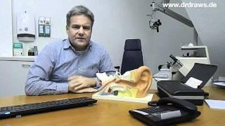 Erste Hilfe bei Ohrenschmerzen - HNO Ratgeber Dr. Draws