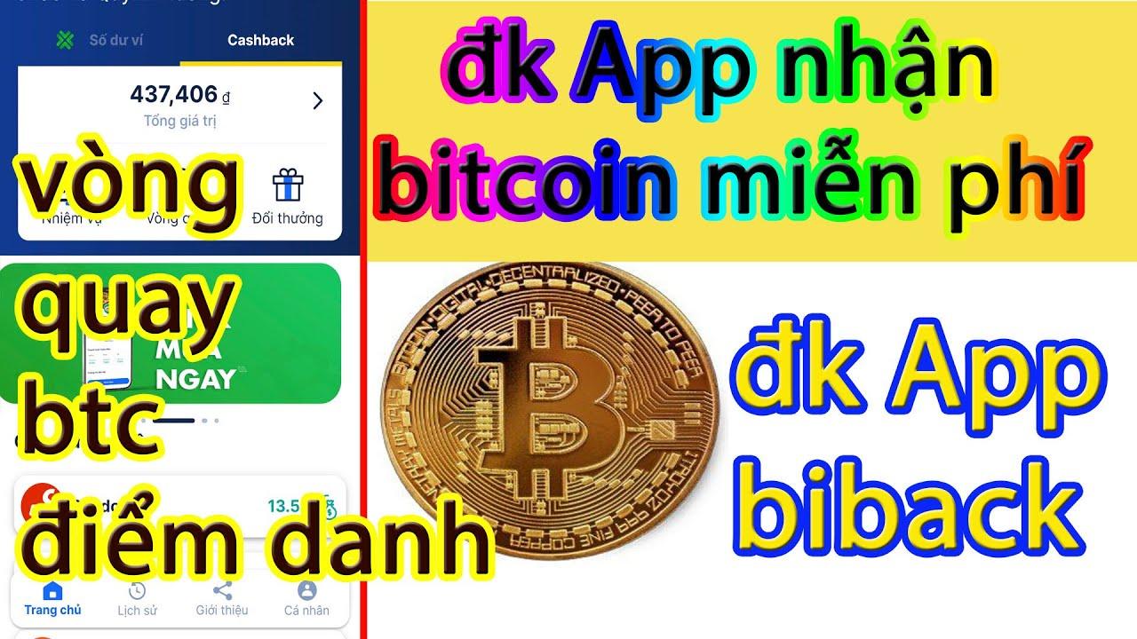 HÓT đăng ký ví  Bitback nhận miễn phí bitcoin, đăng nhập hàng ngày nhận thêm, App kiếm BTC miễn phí
