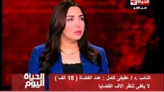 بالفيديو.. برلماني: عدد القضاة الموجودين لا يكفي