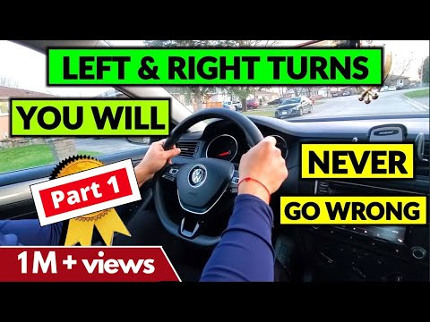 Interesting Tips on how to turn LEFT & RIGHT || PART 1 || Beginner Driver Lesson || Toronto Drivers