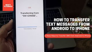 How to Transfer Text Messages from Android to iPhone (Two Easy Ways) screenshot 4