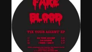 Fake Blood-the dozens thumbnail