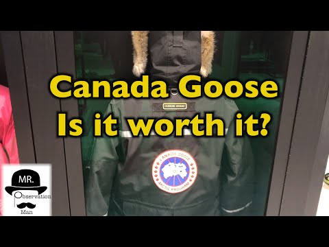 Best Winter Jacket? Canada Goose vs. Northface