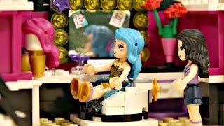 Pop Star Dressing Room / Garderoba Gwiazdy Pop - Lego Friends - 41104 - Recenzja