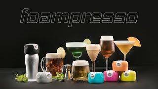 FOAMPRESSO Beverage Foamers