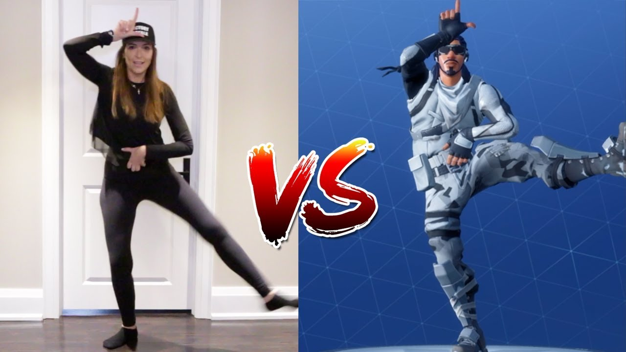 FORTNITE DANCE CHALLENGE WITH MAMA! - (In Real Life)