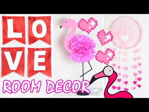 DIY ROOM DECOR / Декор комнаты на День Влюбленных / Украшение комнаты / Бюджетный декор 🐞 Afinka