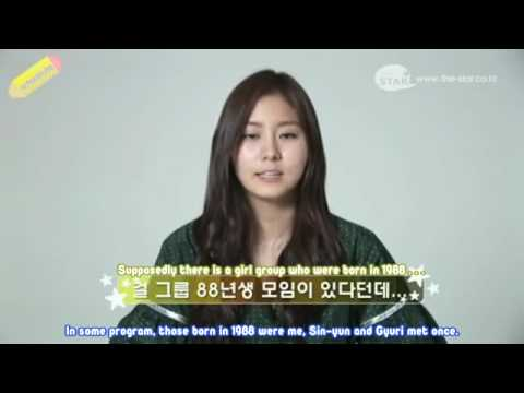 [SchoolSubs] After School UEE - The Star Interview