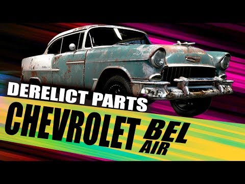 """CHEVROLET Bel Air"" Derelict Part Locations for  Need For Speed Payback - Derelict Car Locations"