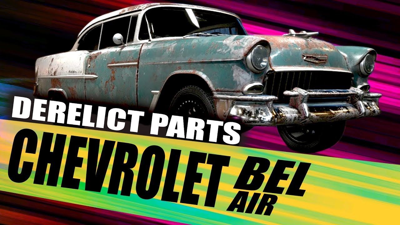 Chevrolet Bel Air Derelict Part Locations For Need For Speed