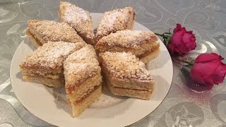 Tatar paxlavası . Песочный торт.