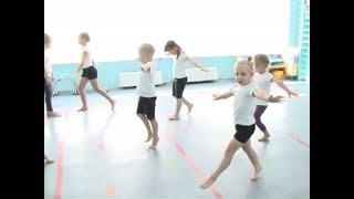 Необычное занятие по физкультуре в детском саду