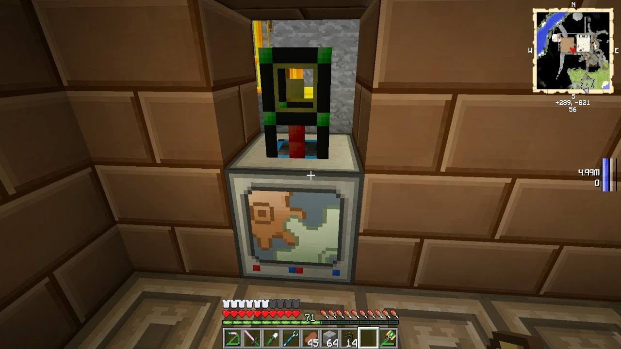 Minecraft Cyclic Automated Crafting