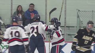 RMU vs Army - Men's Hockey Highlights [Game 2]