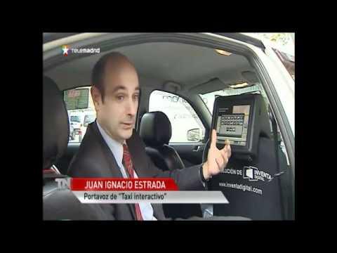Telemadrid Noticias 2 - Taxi Interactivo - Cibertaxi