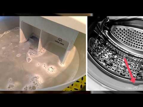 Благодаря этим 5 трюкам твоя стиральная машинка может стать ЧИСТОЙ И СИЯЮЩЕЙ