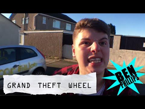 """Ben Phillips   Grand Theft Wheel - """"my Cars Been Vandalised?!"""" - PRANK!!!"""