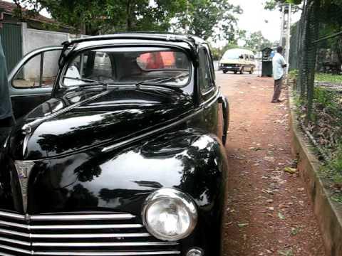 Peugeot 203 from Sri Lanka( 1956) - YouTube
