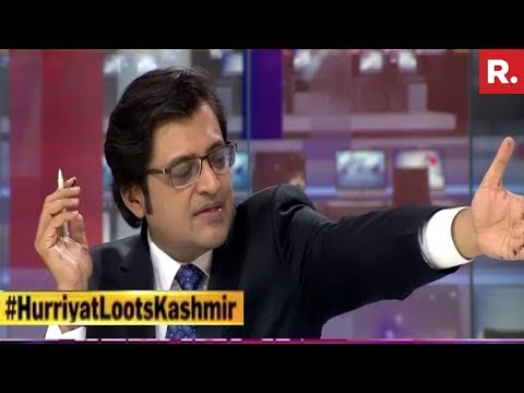 Why Is Mirwaiz Umar Farooq Investing In Dubai Asks Arnab Goswami