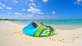 Kitesurfing and exploring High Cay in San Salvador, The Bahamas
