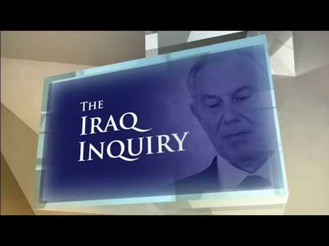 "John Chilcot: Tony Blair was ""not straight"" with the public over Iraq war"