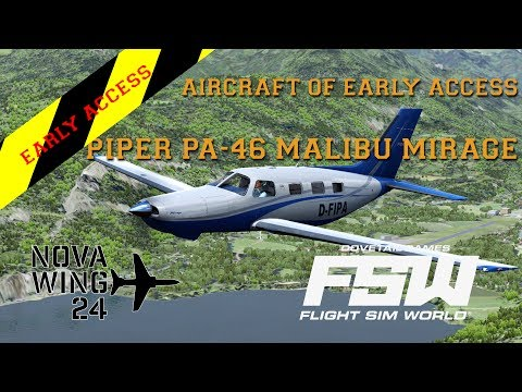 Flight Sim World - Aircraft of Early Access - Piper Malibu Mirage