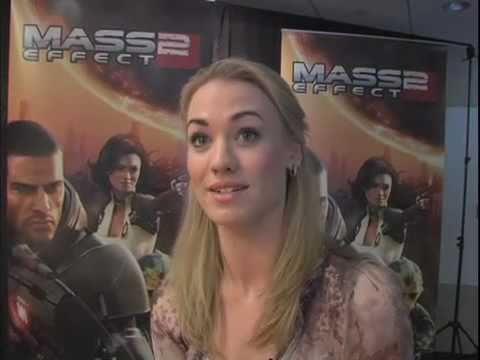 Yvonne Strahovski Interview Mass Effect 2