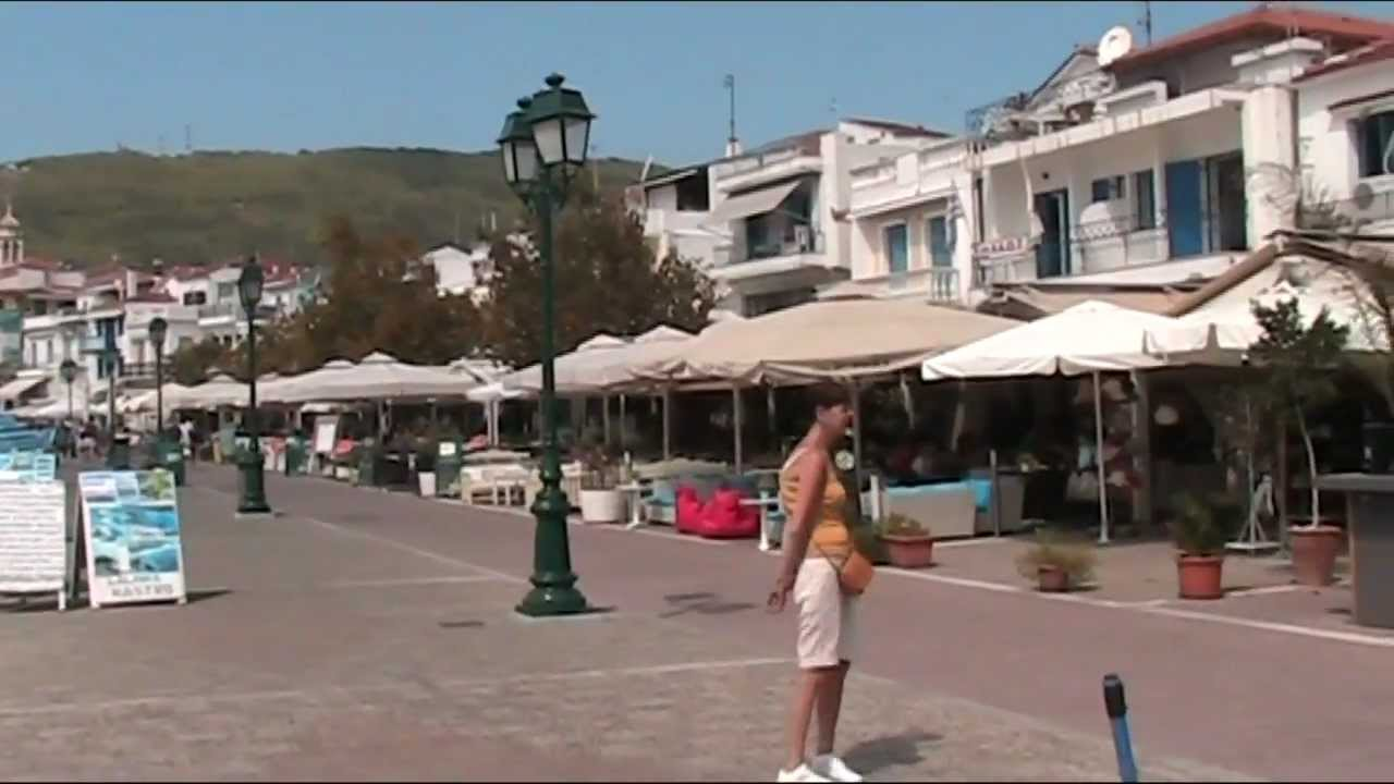 GREECESkiathos Town and Harbour YouTube